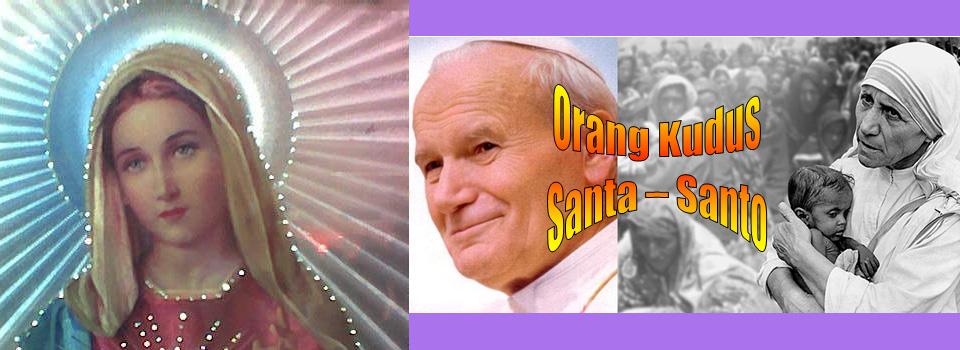 Orang Kudus - Santa Santo