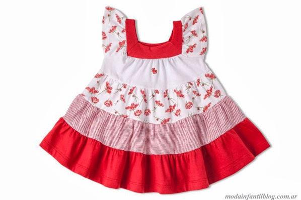 moda infantil vestidos GdeB verano 2014