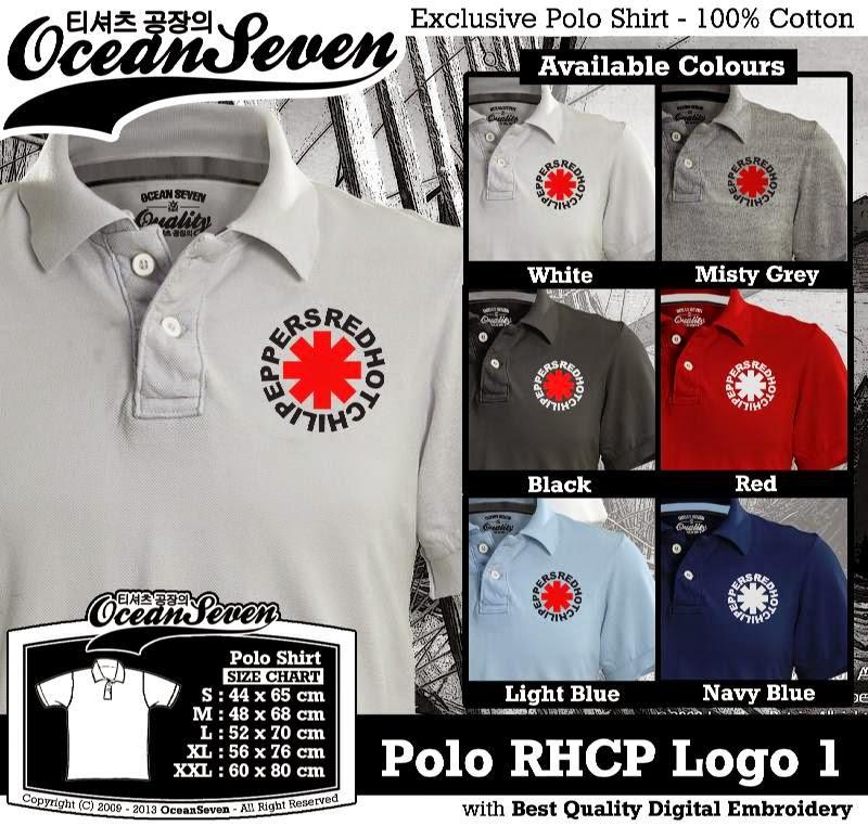 Kaos Polo RHCP Logo 1