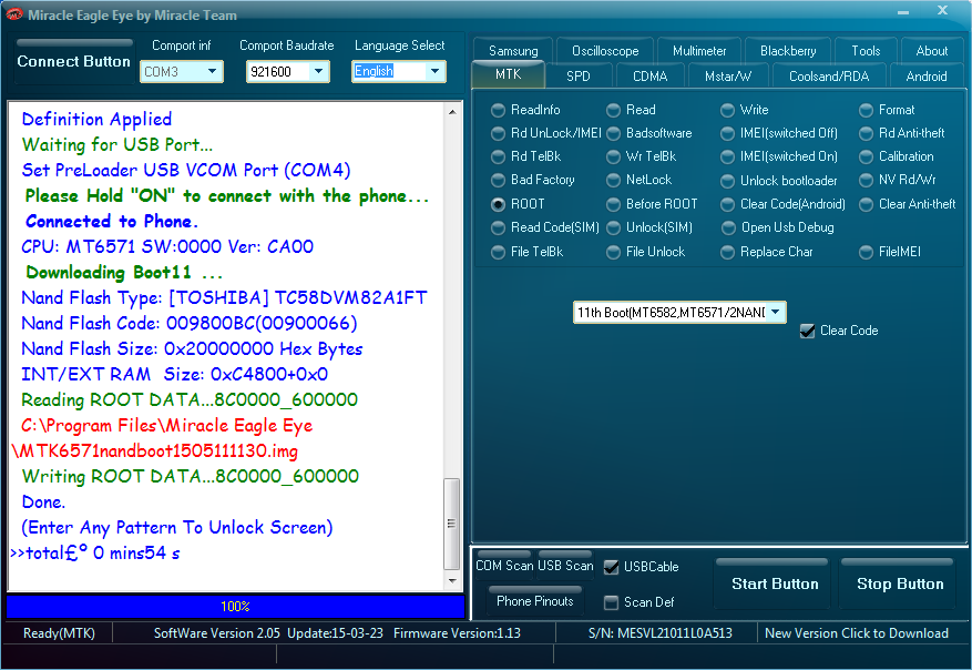 Download Qmobile X6 MTK6571 100% tested scatter file
