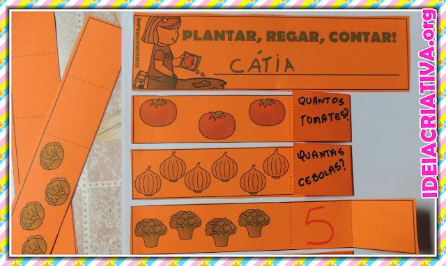Atividade Horta na Escola Interativa e Divertida