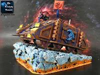 Opętany Rhino Tzeentcha Kosmicznych Marines Chaosu