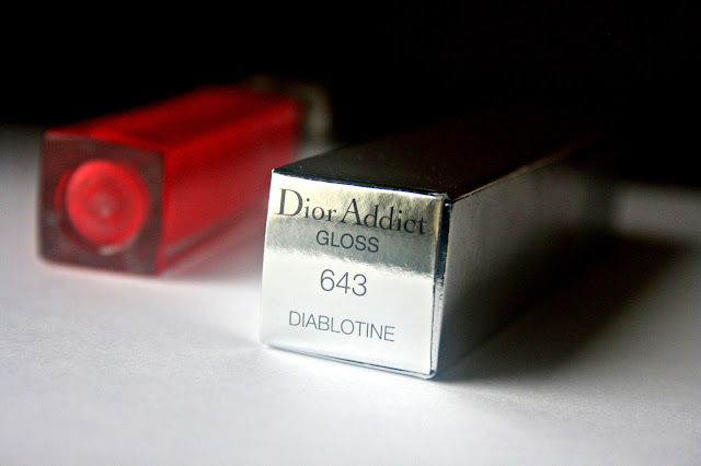 Dior Addict Gloss in Diablotine Review, Photos & Swatches FOTD
