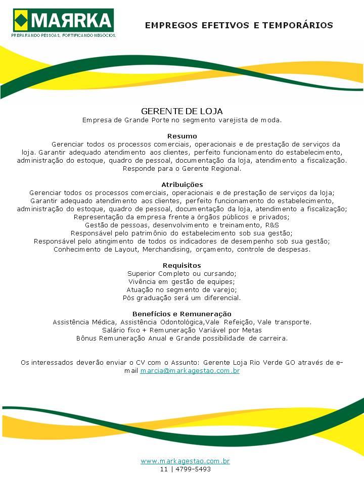 Escola de Gastronomia Rio de Janeiro: Vagas de trabalho