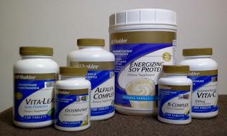 set penyusuan, esp, vitalea, ostematrik, alfalfa, b complex, vitamin c
