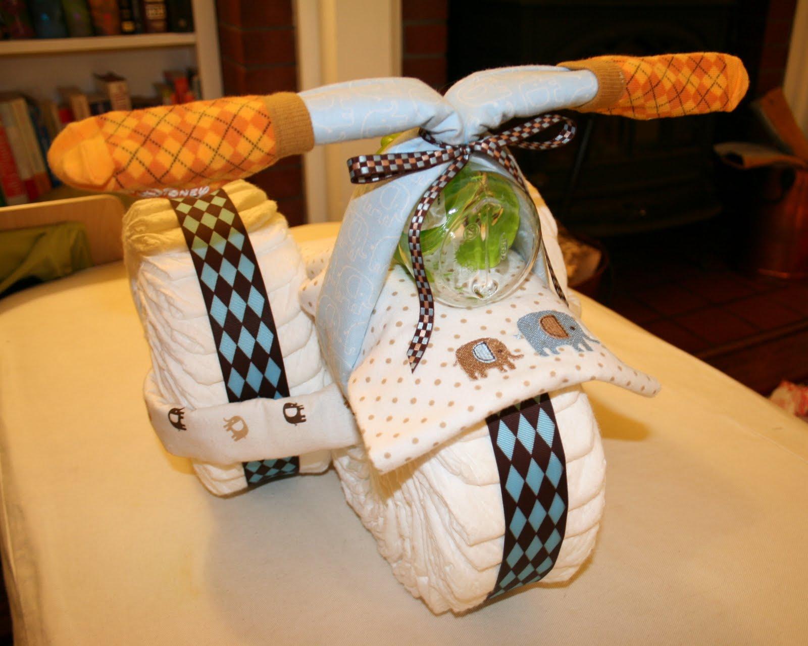 pin diaper cake motorcycle baby shower ebay cake on pinterest