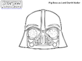 Lego Darth Vader Colouring Pictures