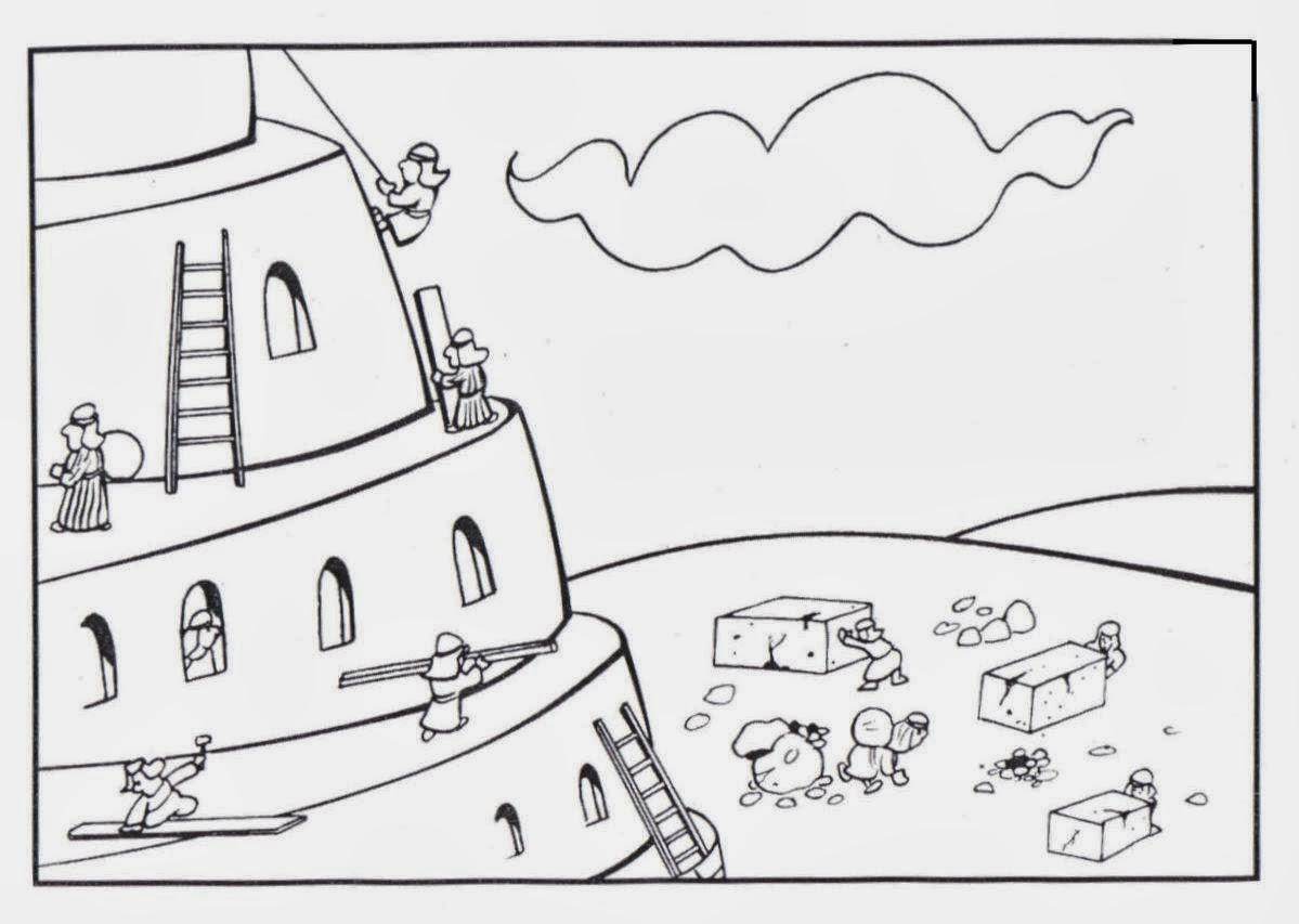 Imagenes Cristianas Para Colorear: Dibujos Para Colorear De La Torre ...