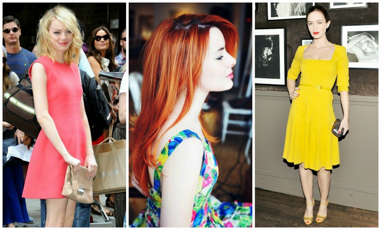 Color dresses for pale skin
