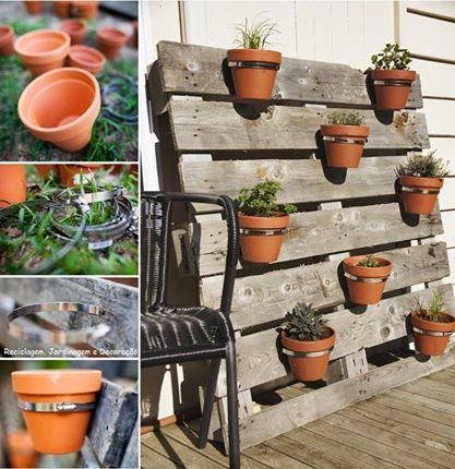 El detalle que hace la diferencia palet mania for Ideas con palets para jardin