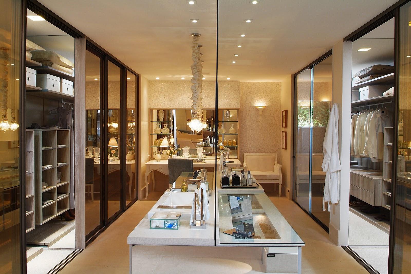 Imagens de #91703A Closets e banheiros integrados maravilhosos confira essa tendência  1600x1066 px 3714 Banheiros Planejados Sofisticados