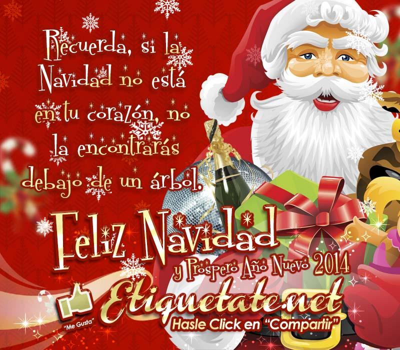 Frases De Feliz Navidad Y Prospero Ano Nuevo