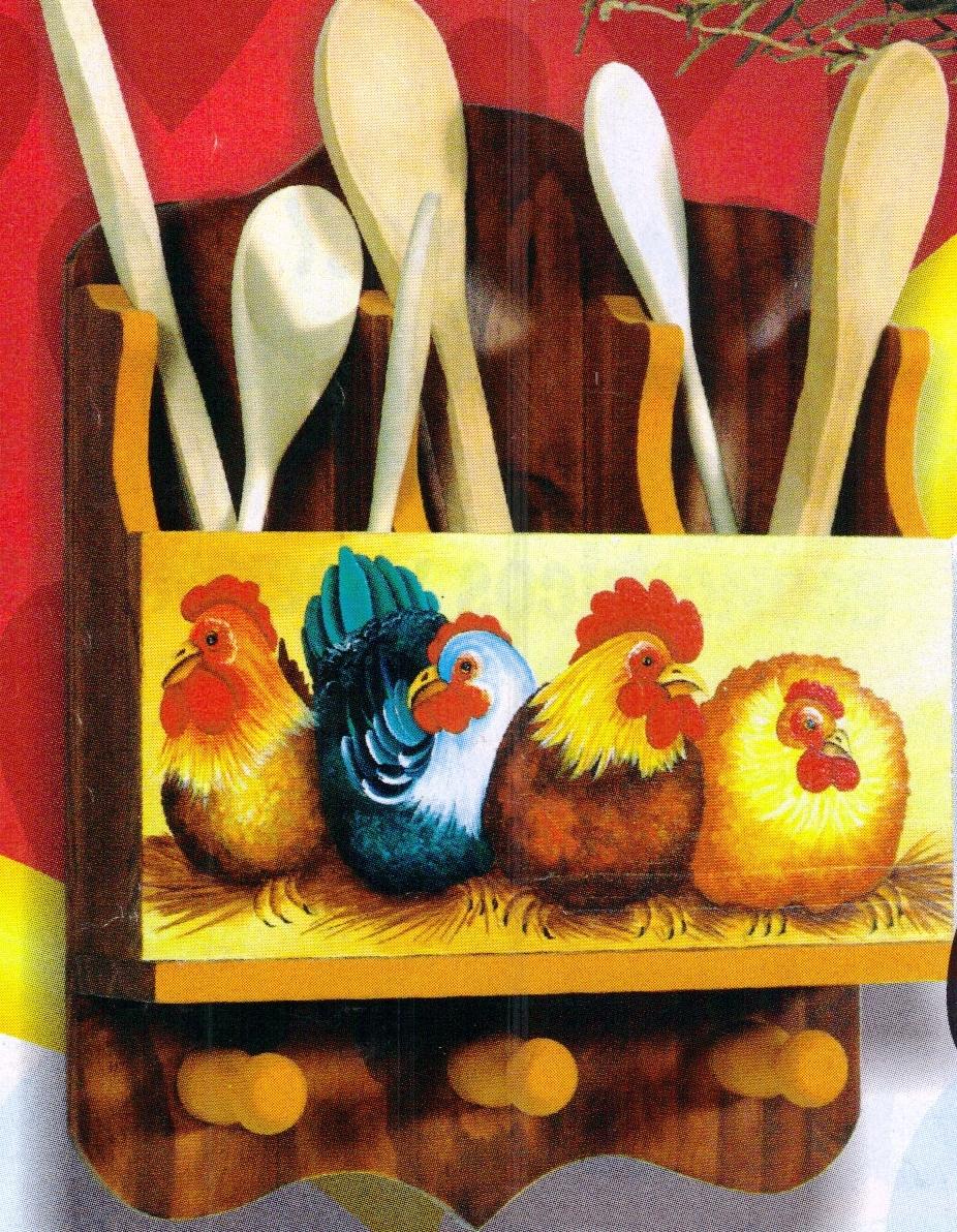 Mente creativa decoracion cocina en madera for Perchero para cocina