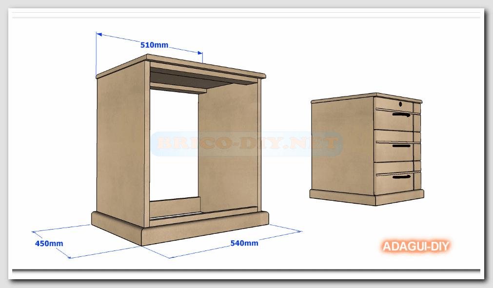 Como hacer velador de mdf v deo como hacer m dulo b sico for Como armar muebles de mdf