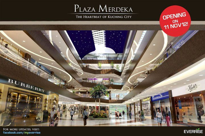 Plaza Merdeka At Kuching Opening At 11 November 2012