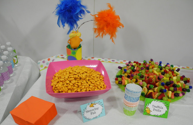 My Daughter's Lorax themed cake and party! title=