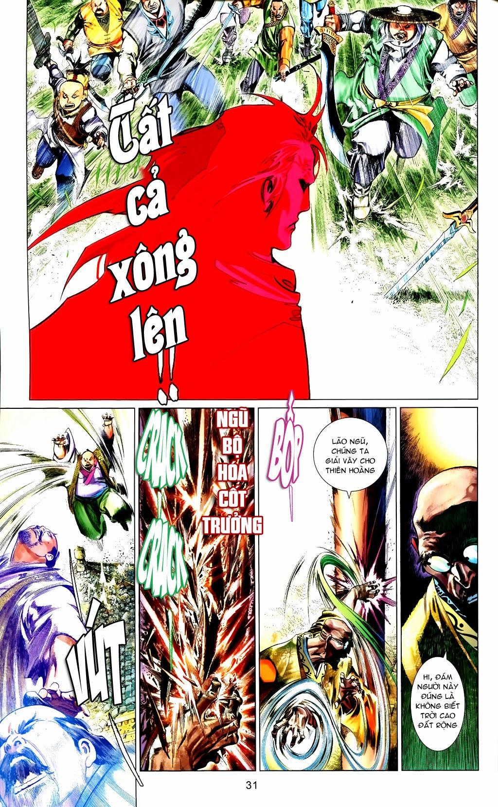Phong Vân Chap 663 - Trang 31