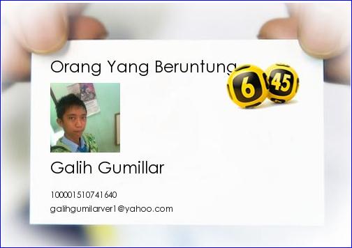 Galih Gumillar (愛してるよ)