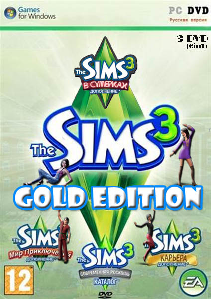 The Sims 3 Gold Edition v 16 0 136