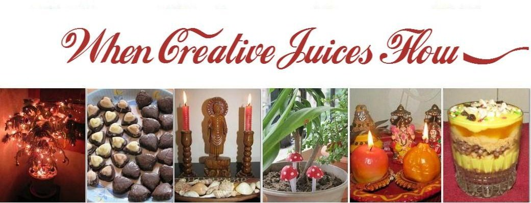 When Creative Juices Flow...