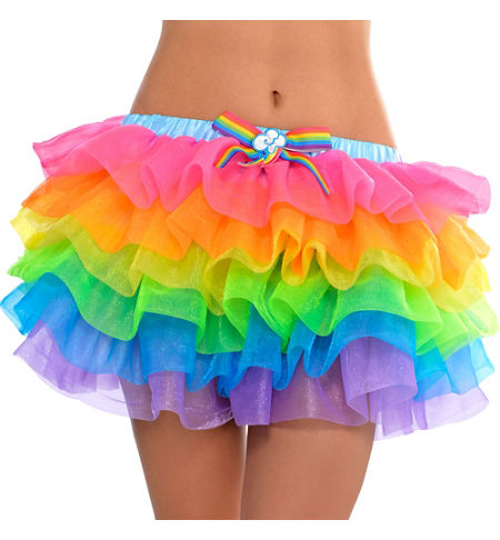MLP Rainbow Dash Adult Costume Tutu