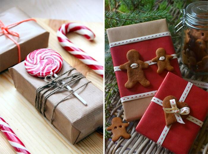 Как упаковать подарок своими руками в крафт бумагу