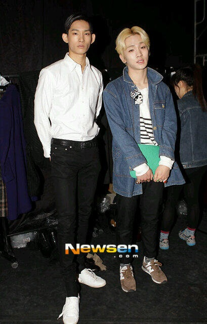Shinee Key Park Hyeon Seop Seoul Fashion Week 130325 -2