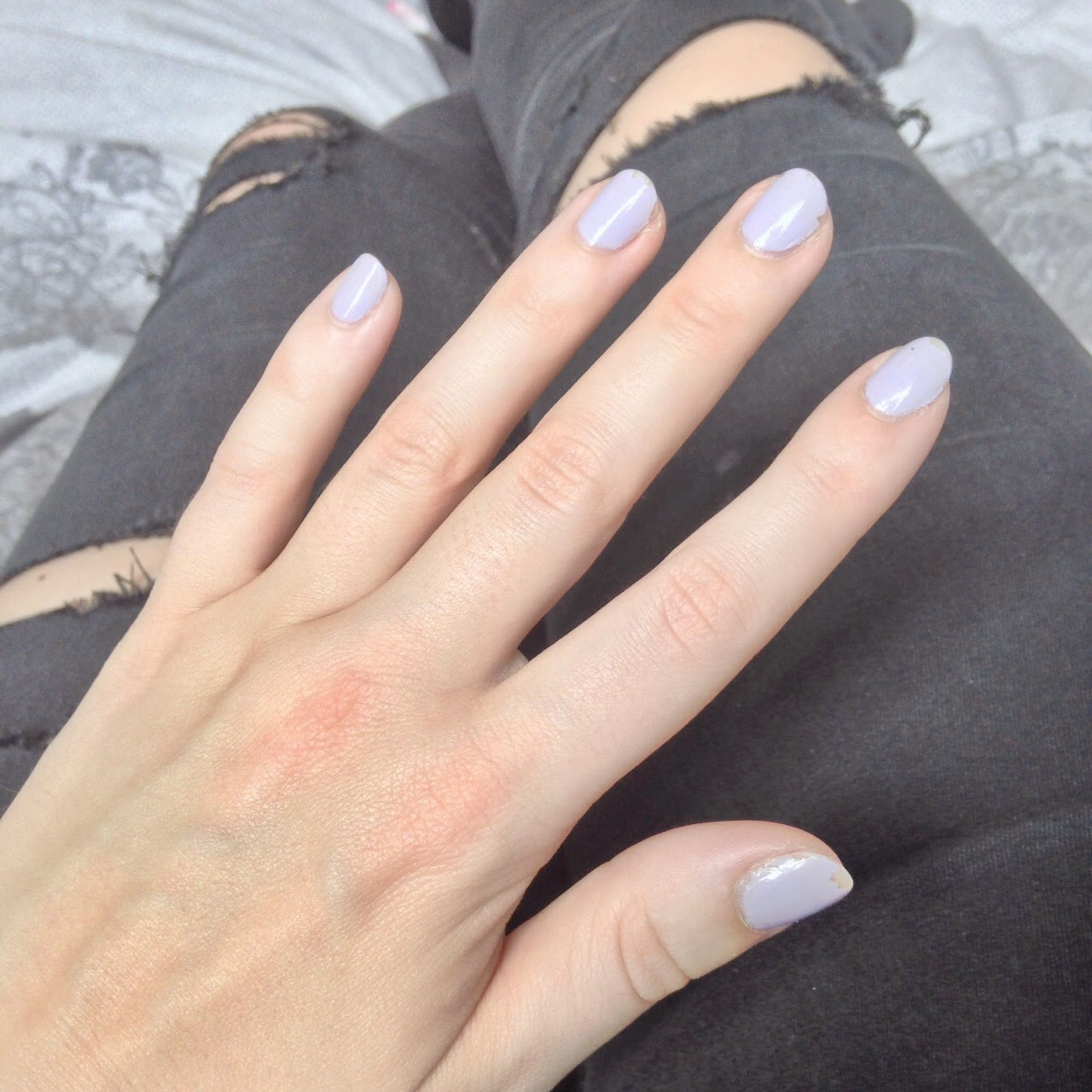High Street Beauty Junkie: Battle of the Lilac Nail Polishes: Rimmel ...