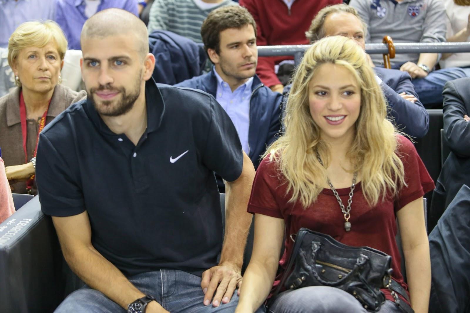 15 Fotos HQ  Shakira y Gerard en el  quot Palau quot  viendo partido de    Gerard Pique Girlfriend