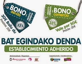 Abanto-Zierbena lanza su nueva campaña de apoyo al comercio y la hostelería local