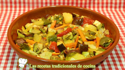 Verduras con especias