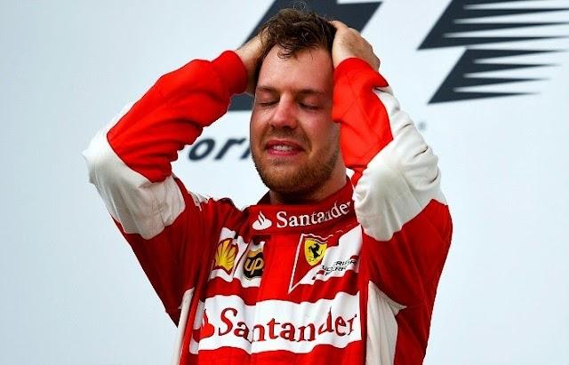 Vettel estraga a brincadeira das Mercedes, Massa é o 6° e Nasr o 12°