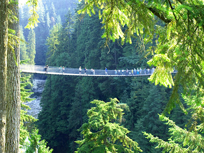 Capilano Suspension Bridge British Columbia Canada World Wonders