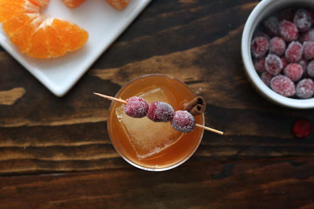 Autumn Cranberry Old Fashioned