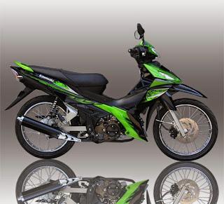 Spesifikasi Kawasaki EDGE R