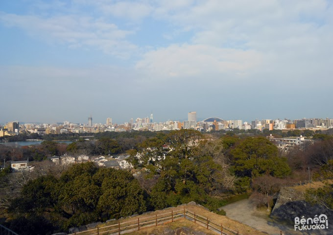 View of Fukuoka city