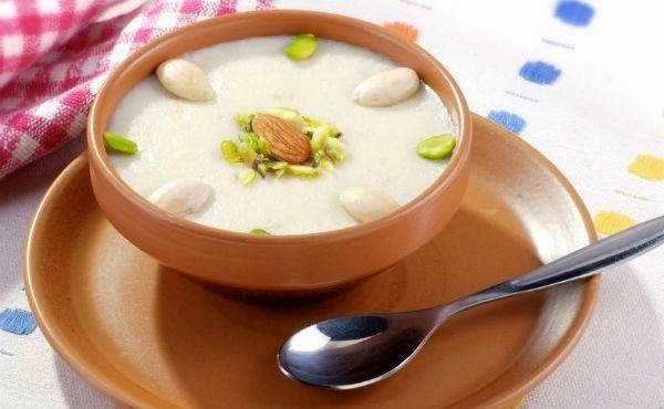 Indian kheer - a sweet dish
