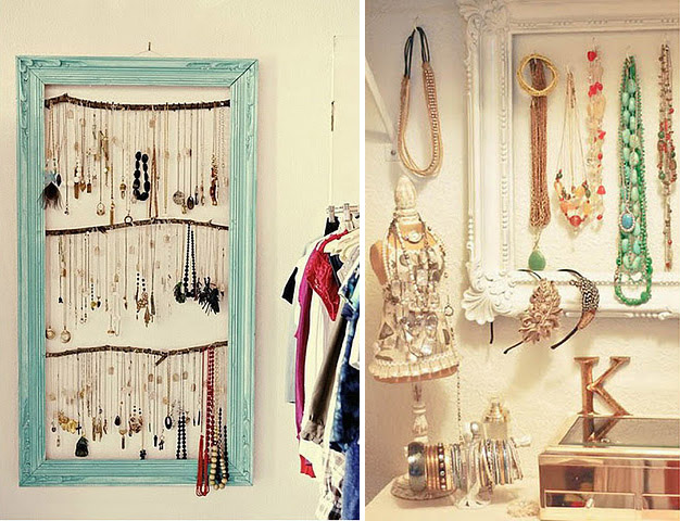 Adorn me diy inspiration jewelry organization - Organizing for small spaces collection ...