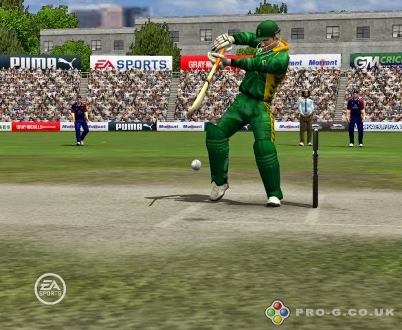 pc games cricket 2007 ea sport