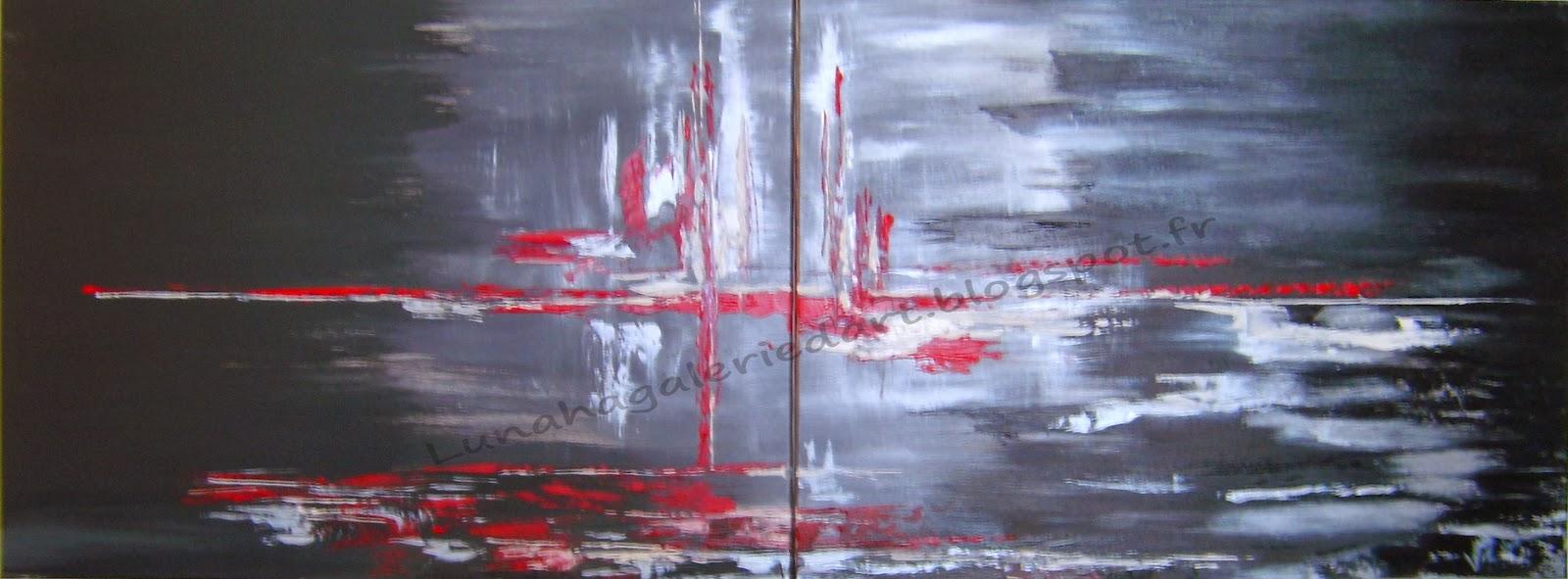 Assez LUNAHA GALERIE Artiste Peintre: GALERIE Peinture /Abstrait  WJ93