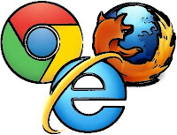 Firefox, Chrome and IE