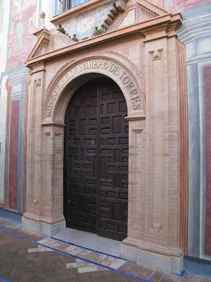 vista exterior museo julio romero de torres