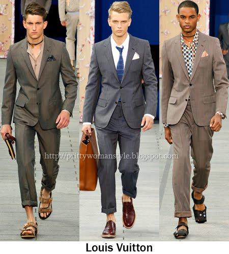 Едноредни вталени сака с тънки ревери и прави панталони