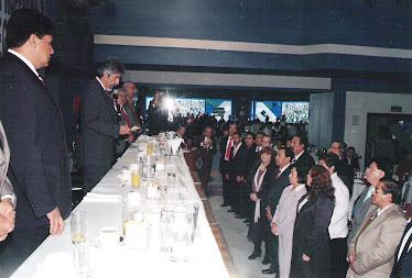 TOMA DE PROTESTA 1ER COMITE EJECUTIVO NACIONAL