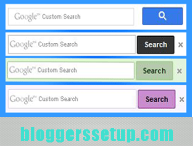 Custom search engine box