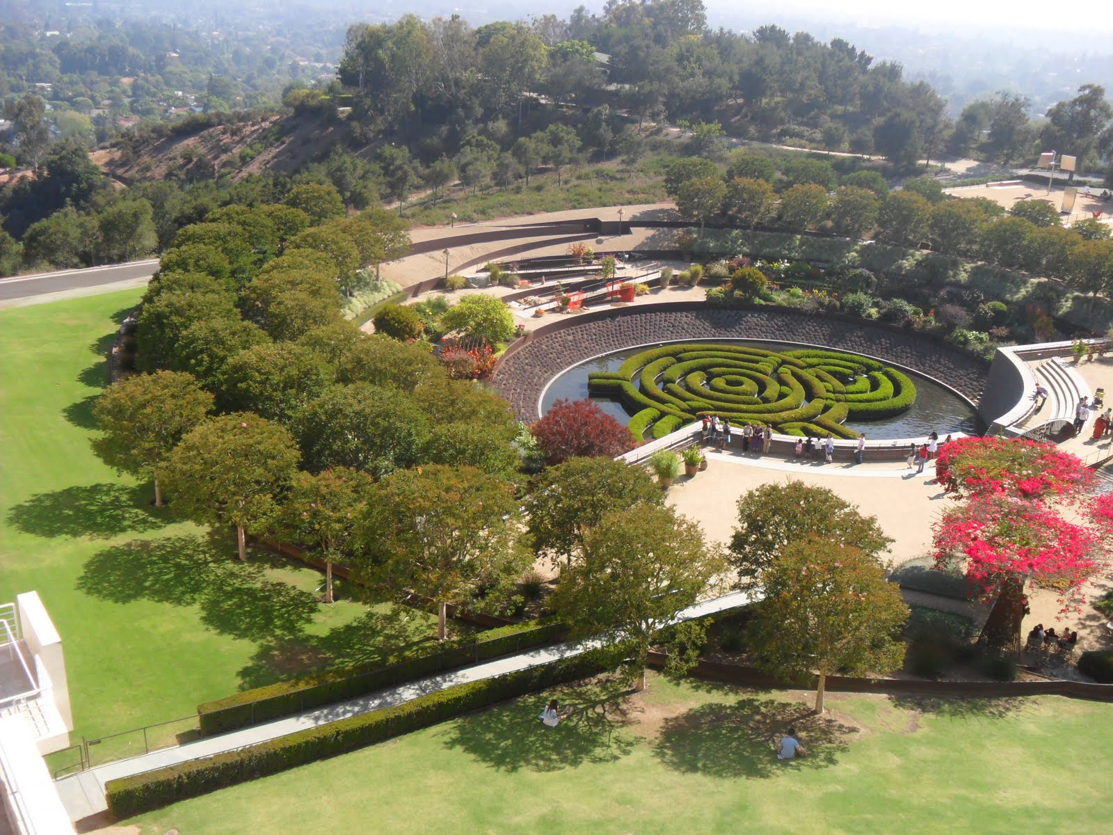 an experience during a trip to the getty museum