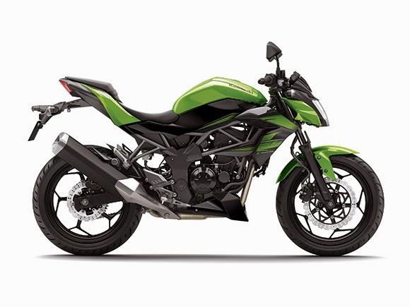 Kumpulan Gambar Motor Kawasaki Z250SL 2014