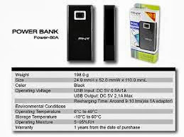 spesifikasi Power Bank Abadi
