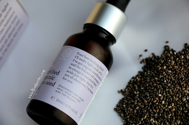 can you use chia seed oil on skin