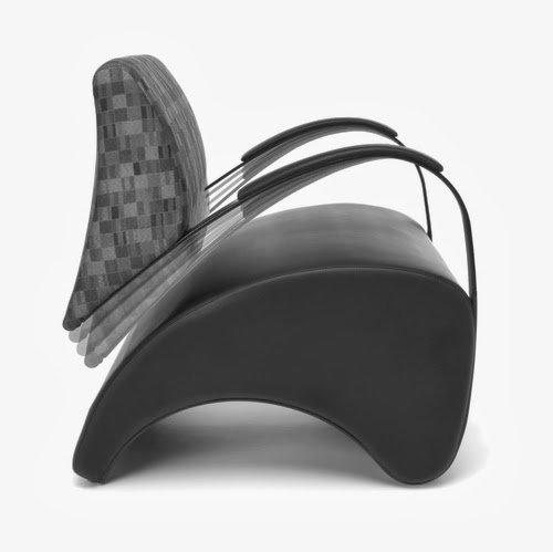 Contemporary Lounge Chair That Rocks